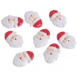 Set 8 ornamente Mos Craciun...
