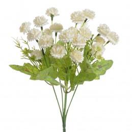 Buchet tiny flowers albe 5...