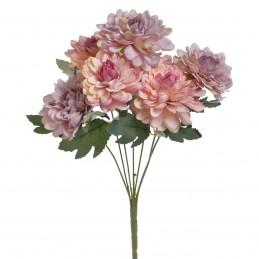 Buchet dalii roz si mov 7...