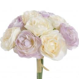 Ranunculus lila si crem, 9...