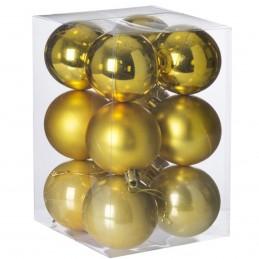 Set 12 globuri aurii...