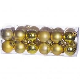 Set 24 globuri aurii...