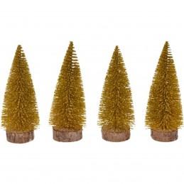 Set 4 ornamente bradut...