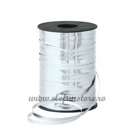 Rafie Metalizata Argintie 5 mm x 500 m