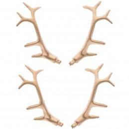 Set 4 ornamente coarne de...