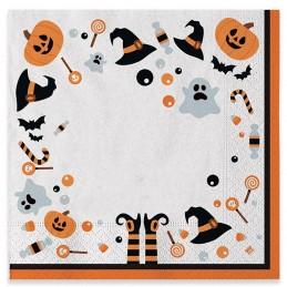 Set 20 servetele Halloween...
