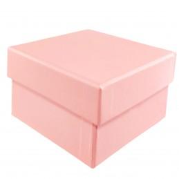 Cutie patrata roz 9cm