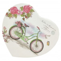 Cutie inima BICYCLE 11 cm