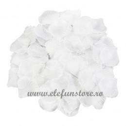 Set 150 petale albe de trandafir