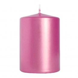 Lumanare cilindrica roz...