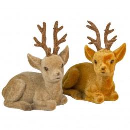 Ornament figurina ren pufos...