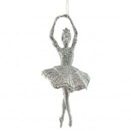 Pandantiv balerina argintie...