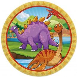 Set 8 farfurii Big Dino...