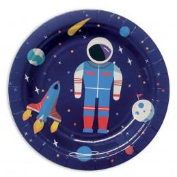 Set 8 farfurii Space...