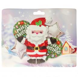 Kit 5 Baloane Craciun Santa...