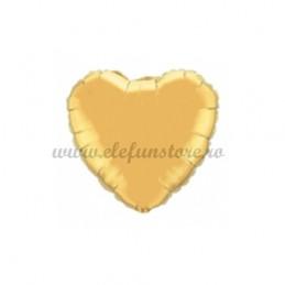 Balon Inima Aurie 25 cm
