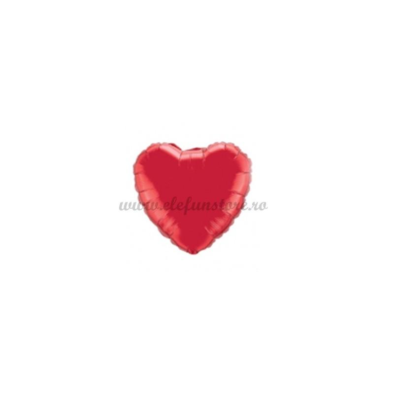 Balon Inima Rosie 25 cm