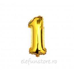 """Balon """" Cifra 0 """" Gold"""