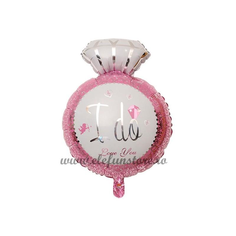 """Balon Inel """"I Do Love You """" Roz"""