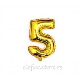"""Balon """" Cifra 4 """" Gold"""