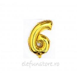 """Balon """" Cifra 5 """" Gold"""