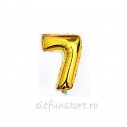 """Balon """" Cifra 6 """" Gold"""