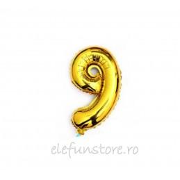 """Balon """" Cifra 7 """" Gold"""