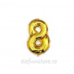 """Balon """" Cifra 1 """" Gold"""