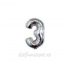 "Balon "" Cifra 2 "" Silver"