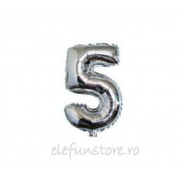 "Balon "" Cifra 4 "" Silver"