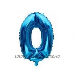Balon Cifra 0 Albastra