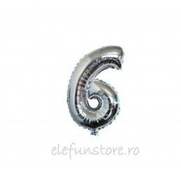 "Balon "" Cifra 5 "" Silver"