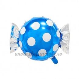 Balon Bomboana Bleu Buline