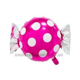 Balon Bomboana Roz Buline