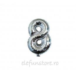 "Balon "" Cifra 1 "" Silver"