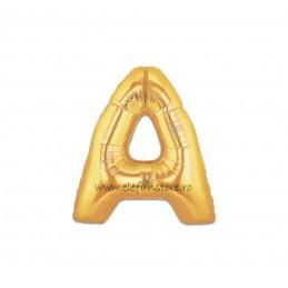 """Balon """" Litera A """" Gold"""