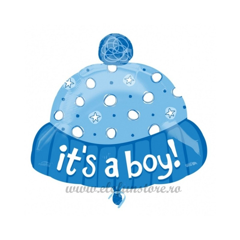 Balon Caciulita Baietel