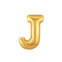 """Balon """" Litera I """" Gold"""