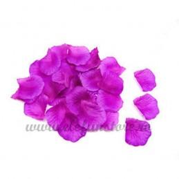 Set 150 petale mov de trandafir