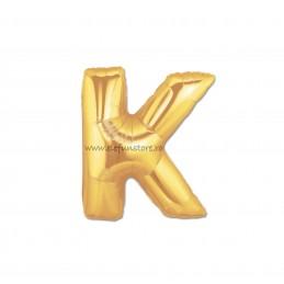 """Balon """" Litera J """" Gold"""