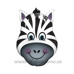 Balon Mini Figurina Zebra