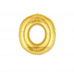 """Balon """" Litera M """" Gold"""
