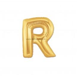 """Balon """" Litera Q """" Gold"""