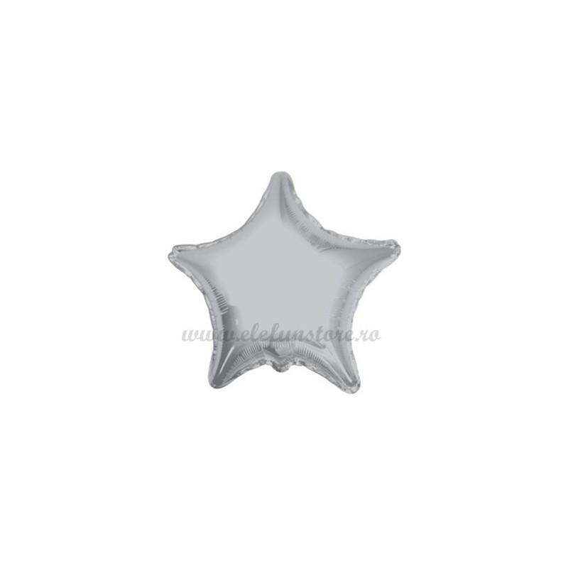 Balon Stea Argintie 25 cm