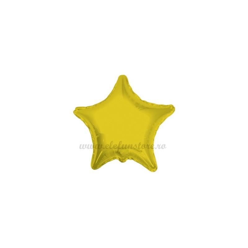 Balon Stea Aurie 25 cm