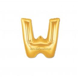 """Balon """" Litera V """" Gold"""
