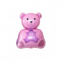 "Balon Minifigurina Ursulet ""It's a girl"""