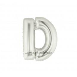"""Balon """" Litera C """" Silver"""