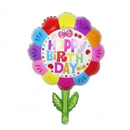 Balon Floare Happy Birthday