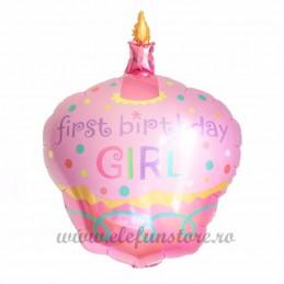 Balon Briosa First Birthday Girl